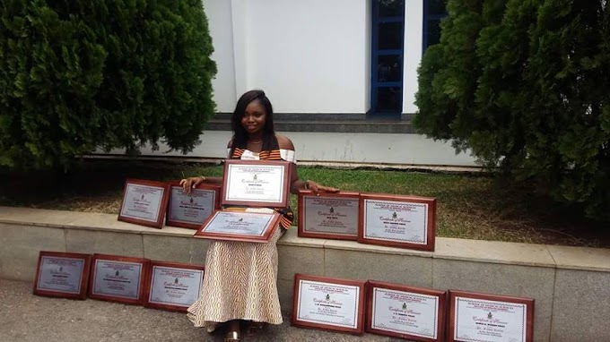 Wesley Girls alum graduates as medical doctor with record 12 awards