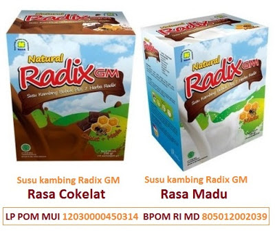 Natural Radix GM Susu Kambing Bubuk Plus Radix