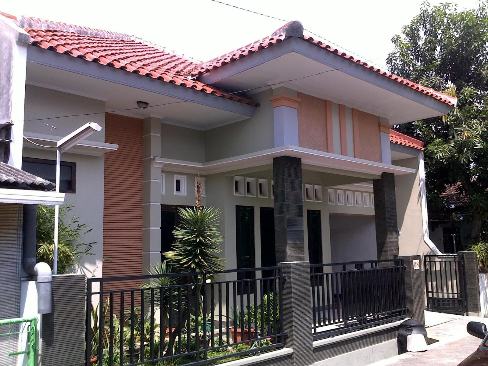 54 Desain Rumah Sederhana di Kampung Yang Terlihat Cantik dan Mewah  Desain Rumah
