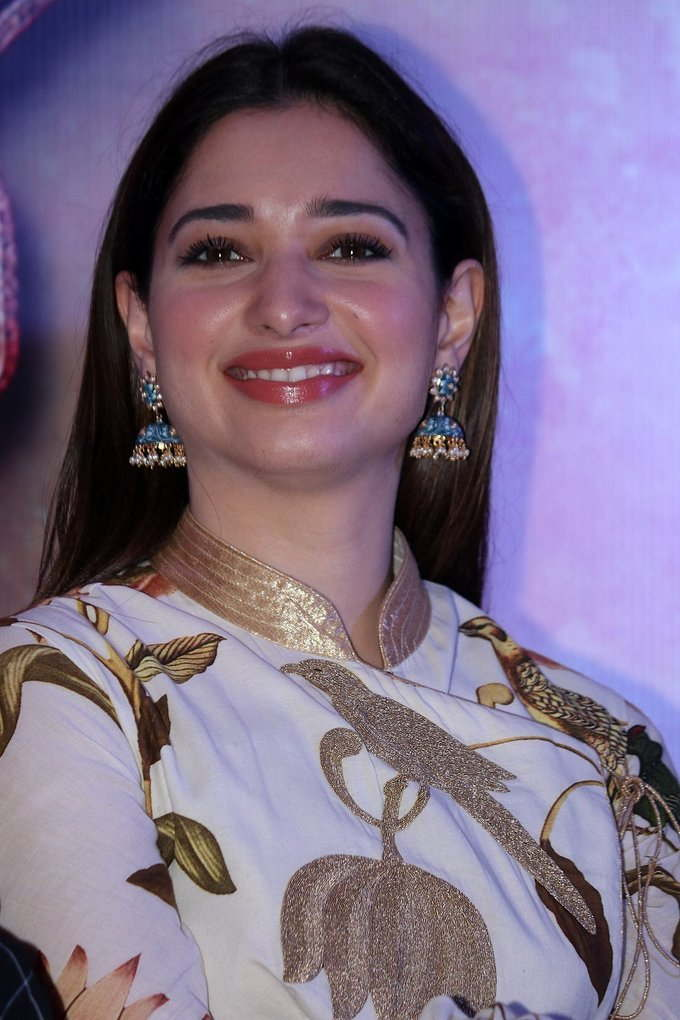 Tamanna Photos At Baahubali 2 Press Meet In Chennai