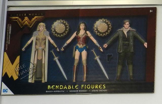 Toy Fair 2017 Wonder Woman movie toys