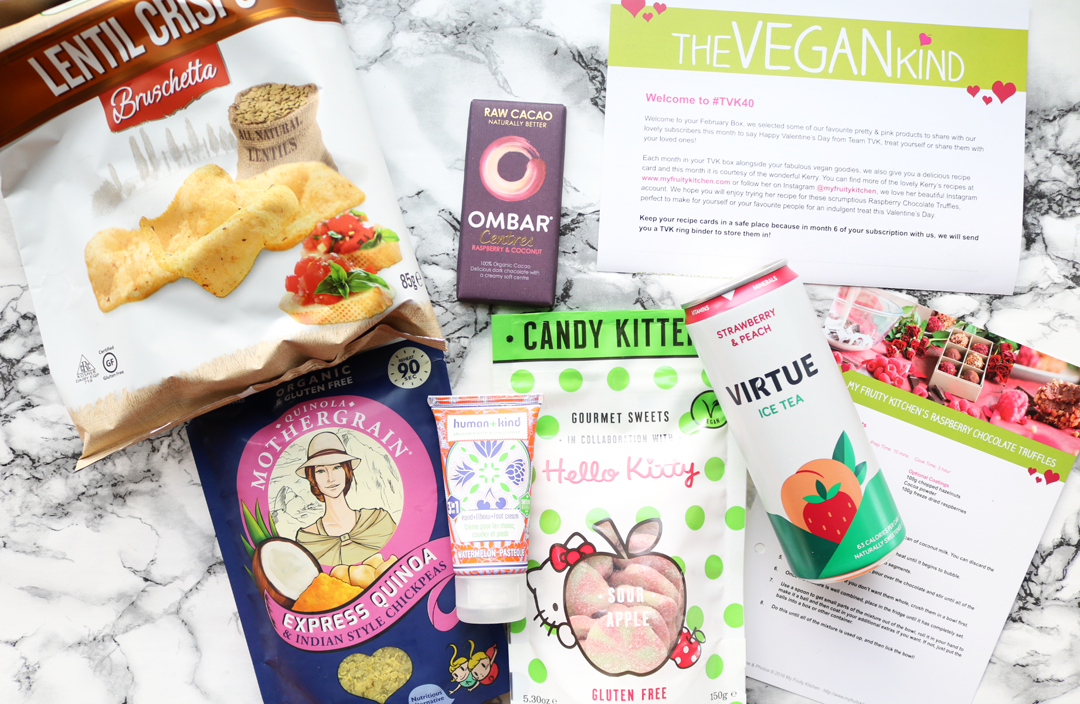 The Vegan Kind Box - February 2017 review