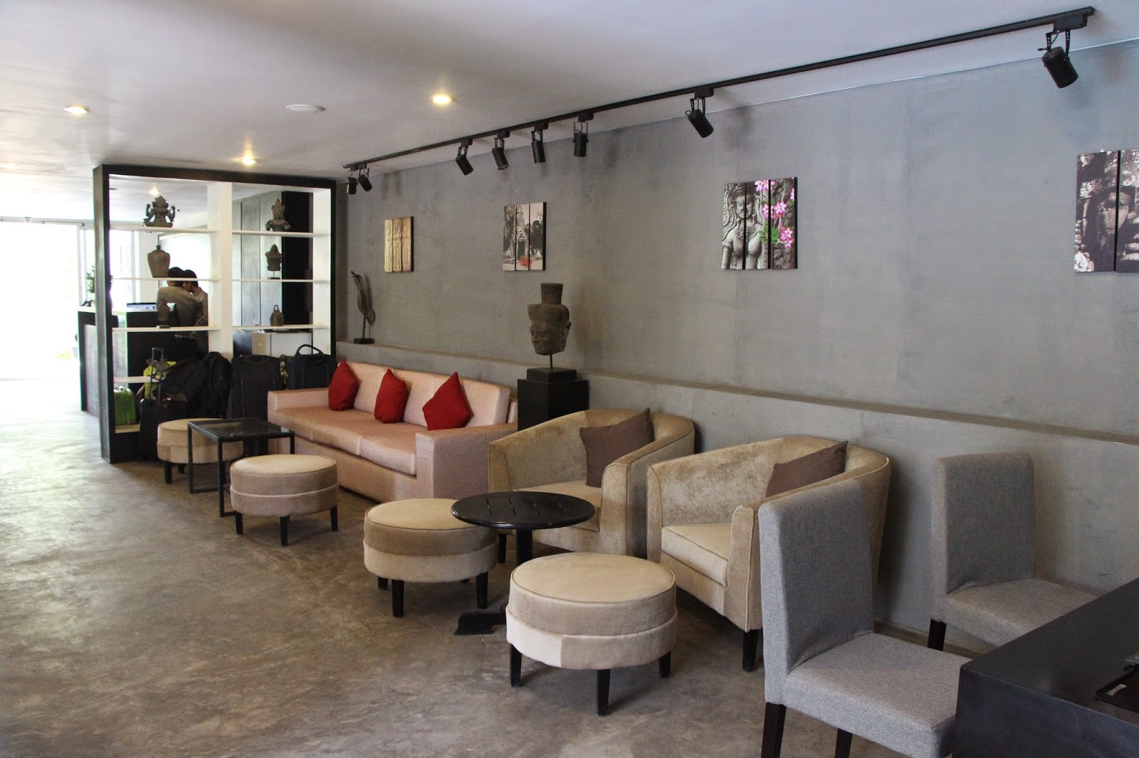 Lobby do Hollywood Angkor Boutique Hotel