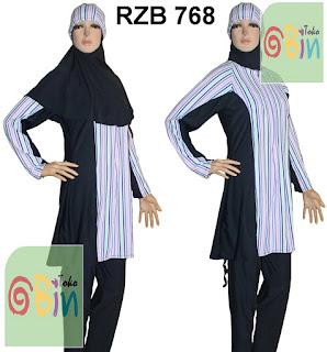 baju renang syari RZB 768