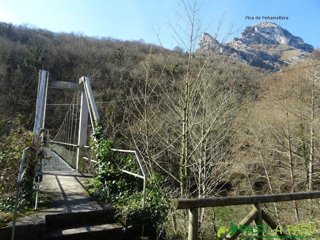 Puente La Molinuca y Pica de Peñamellera