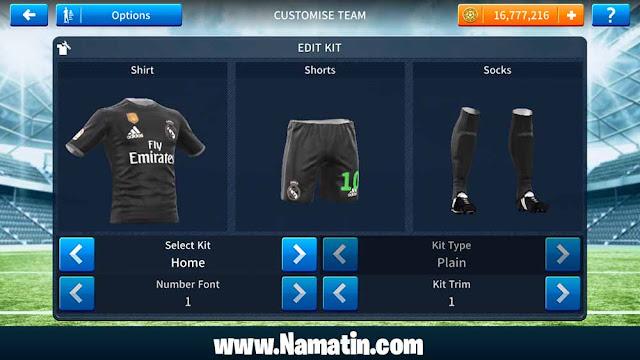 Jersey Dream League Real Madrid Url 2020