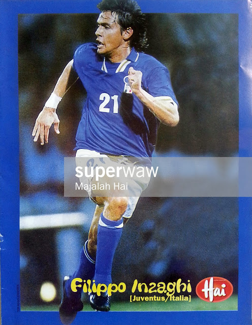 Mini Poster Filippo Inzaghi (Italia 1997)