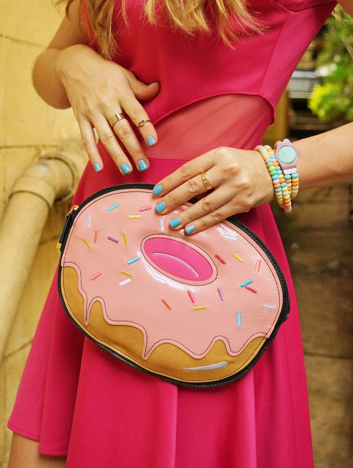 The perfect Clutch to celebrate Donut Day! Adorbs!