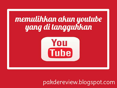 penangguhan channel youtube