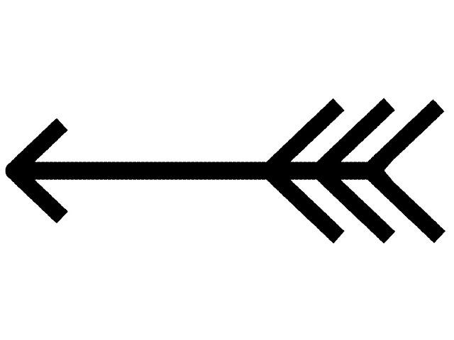 a bow and arrow clipart