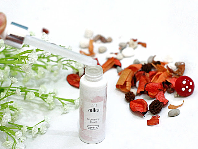 Raiku Brightening Serum Packaging