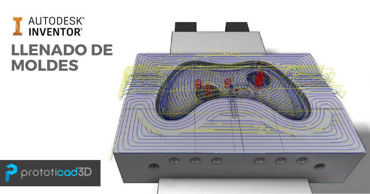 Como verificar el proceso de llenado de un Molde de Inyección en Inventor