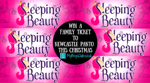 Win A Family Ticket to Newcastle Panto this Christmas - Sleeping Beauty (PREVIEW)