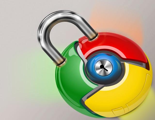 اضافة رائعة  تمكنك من إقفال متصفح جوجل كروم بكلمة سر و منع الآخرين من إستعماله