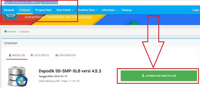gambar cara download aplikasi dapodik