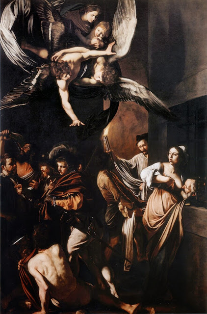 Caravaggio – The Seven Works of Mercy [Sette opere di Misericordia, 1606-1607]