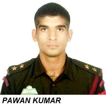 PAWAN KUMAR INDIAN PARAMILITARY COMMANDO SOLDIER KILLED IN PAMPORE SRINAGAR JK TERRORIST ATTACK