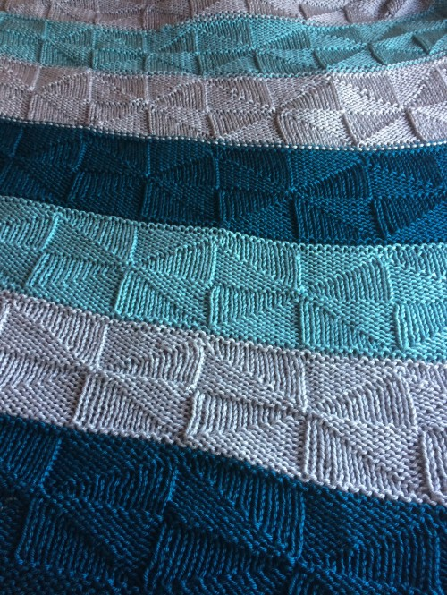 Windmill Blanket - Free Pattern