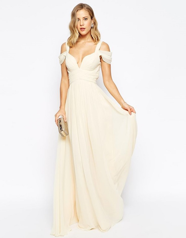 Asos Maxi Wedding Dresses Under $100 | wedding and bridal gowns