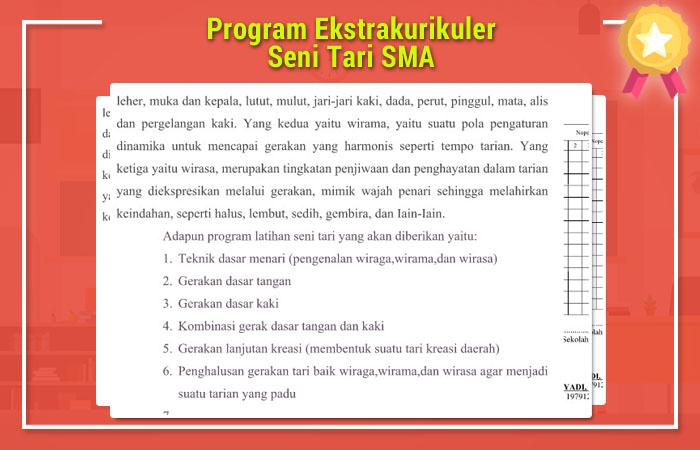 Program Ekstrakurikuler Seni Tari SMA