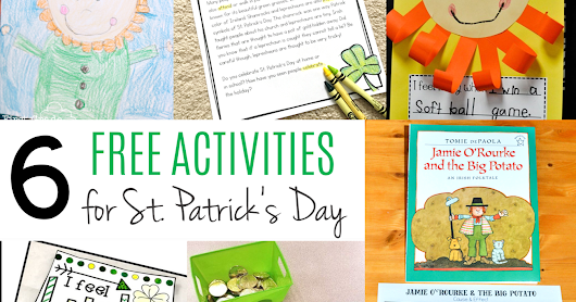 Free St. Patrick's Day Activities