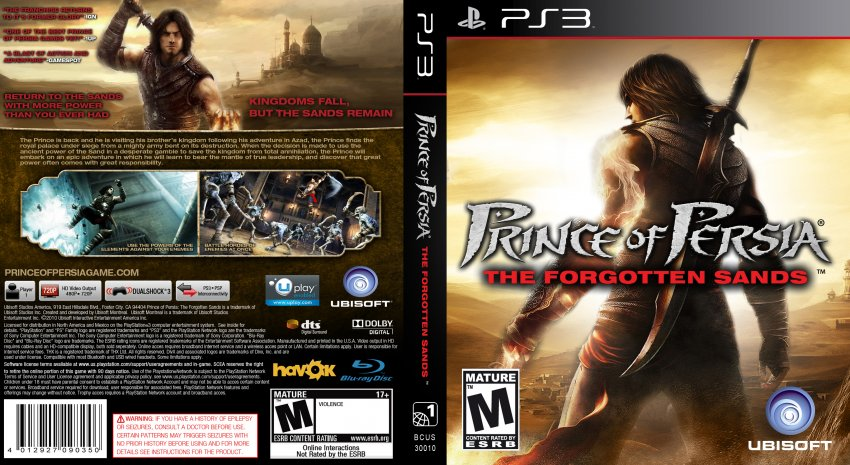 prince of persia the forgotten sands iso ps3