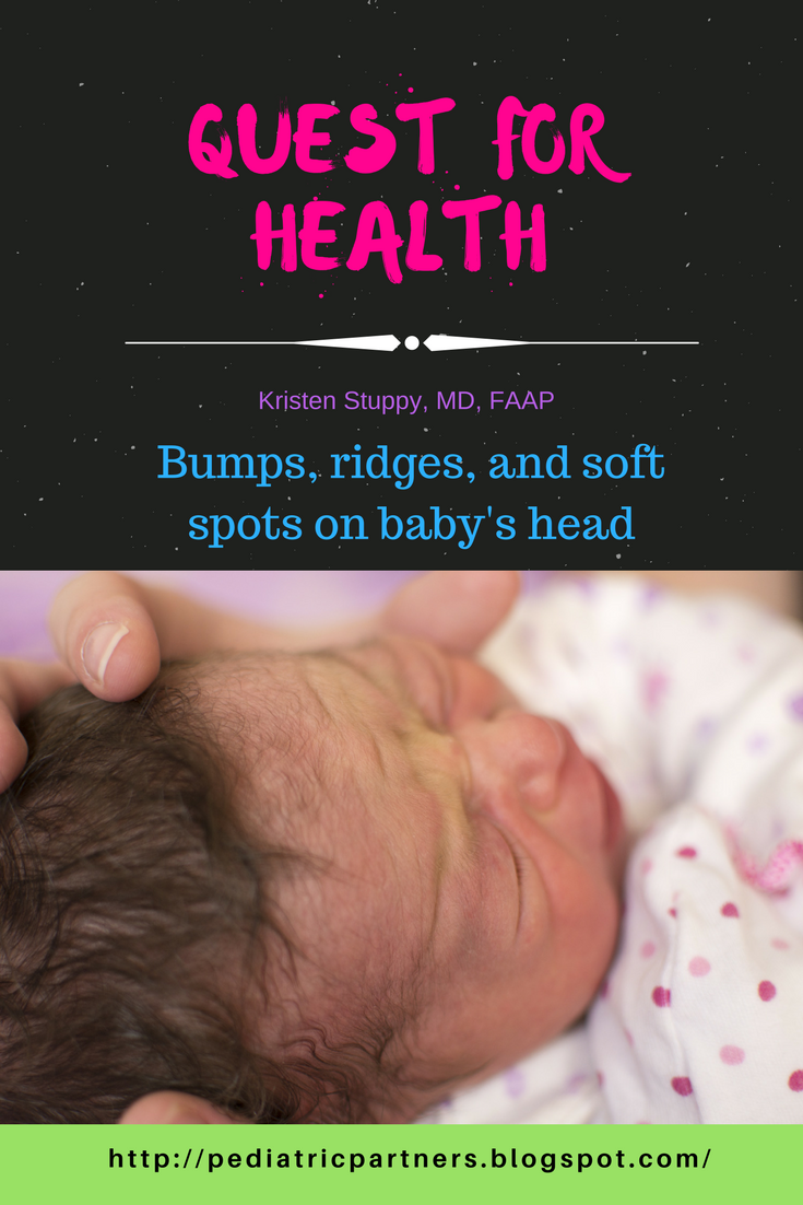 Quest for Health: Bumps, ridges, and soft spots on baby's head