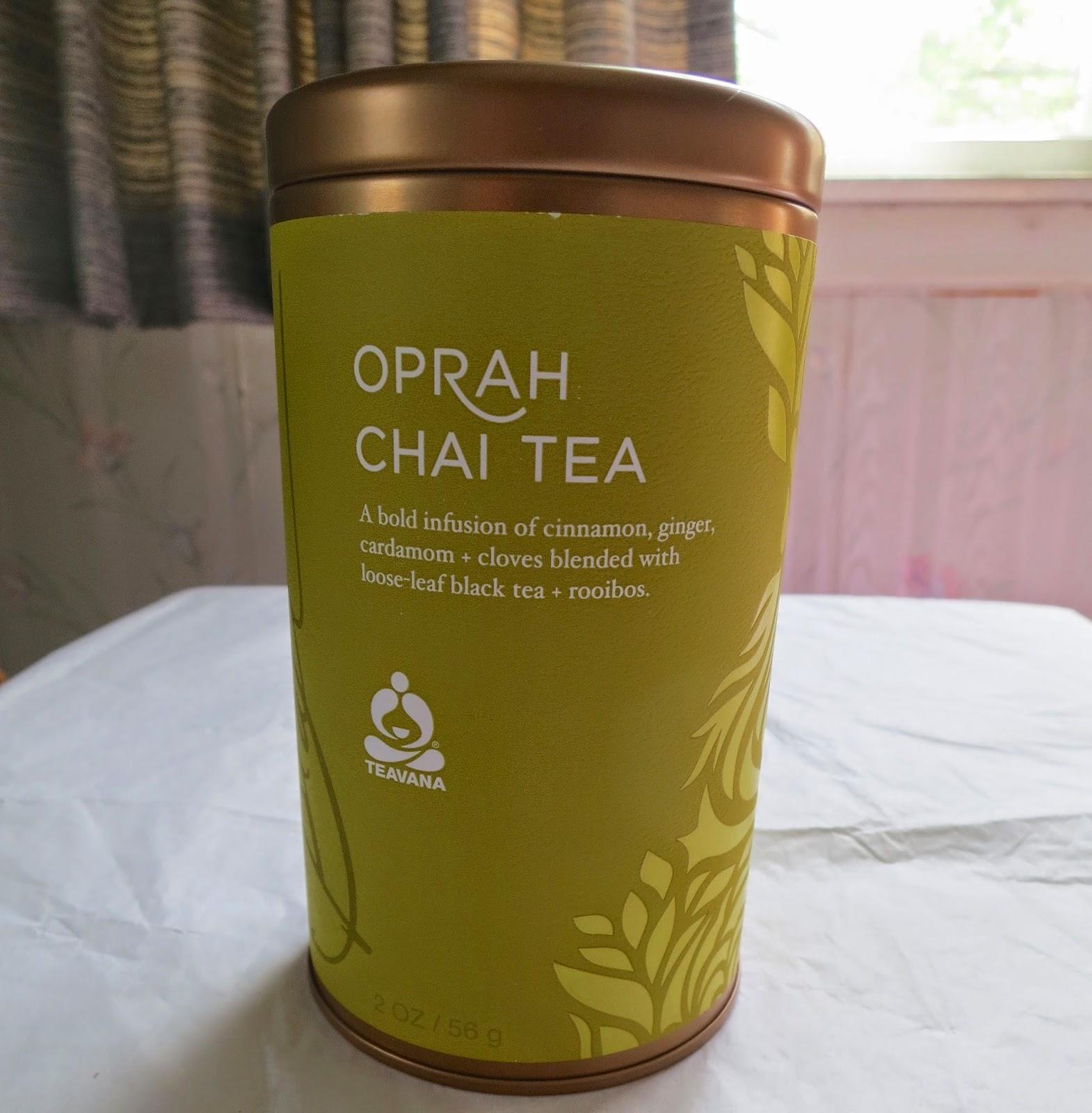 Ask Away Blog: Enjoy Teavana Oprah Chai Tea With Mom