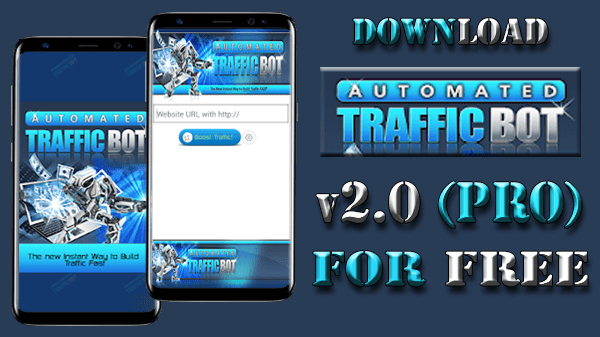 Download Automated Traffic BOT v2.0 new update and Get 1000000 of visitors per day to your site(automatically and for free)