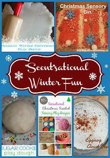 """Scent""sational Winter Fun from Mom's Library"