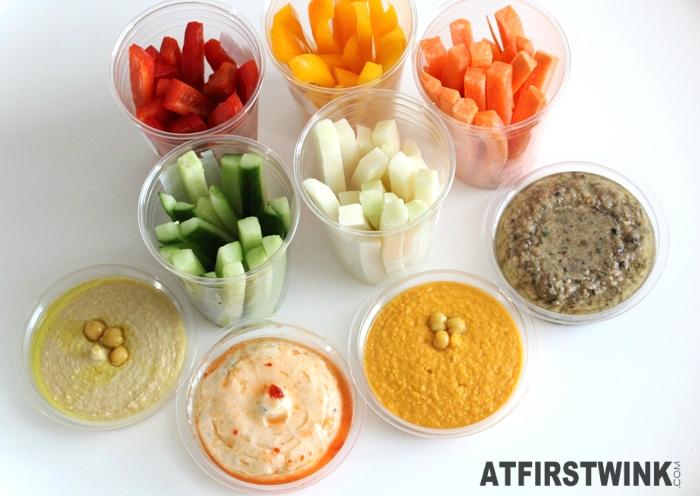 Albert Heijn healthy groenten dippers en dips