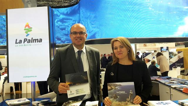La Palma se promociona en la ITB para mantener la tendencia de crecimiento del mercado turístico alemán en la isla