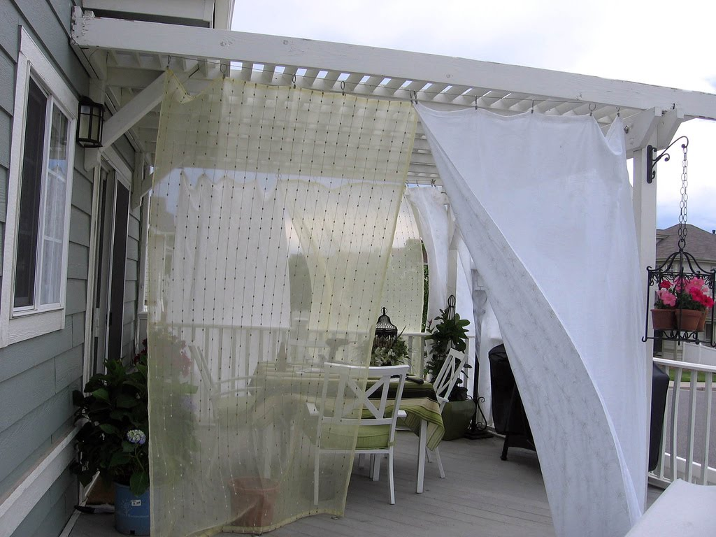 Lucky Lucy Chance: Outdoor Curtains