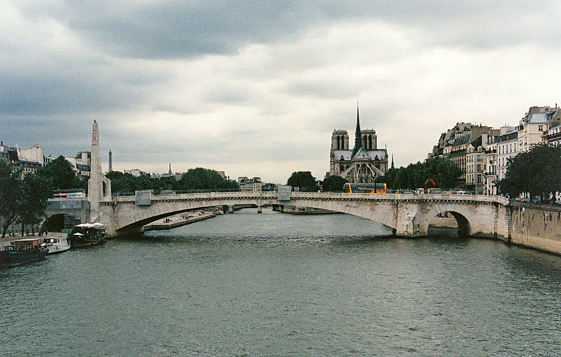 Bridge Of The Week Seine River Bridges Pont De La Tournelle