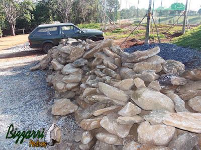 Pedra chapada, tipo pedra moledo para piso de pedra.
