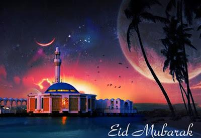 Eid mubarak 2016:eid mubarak with best moon