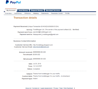 generate fake paypal transactions proof