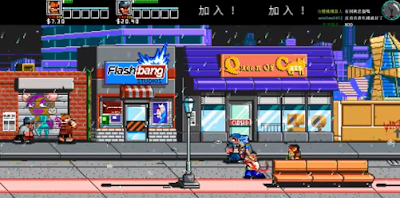 熱血物語:地下世界+攻略(River City Ransom:Underground)!