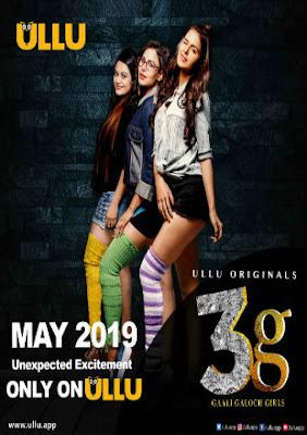 Poster 3G Gaali Galoch Girls 2019 Season 1 Full Hindi Episode 720p