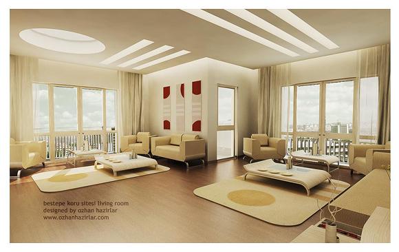 Hogares frescos 25 hermosos dise os interiores para tu for Diseno de interiores para hogar