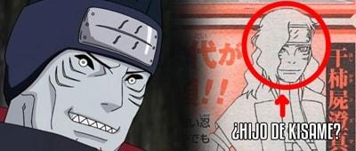 En el anime de Boruto se muestra por primera vez al hijo de Kisame