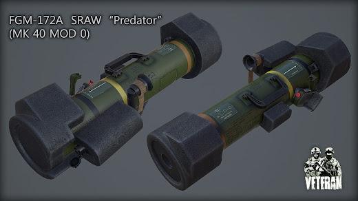 Arma3用Veteran MODのFGM-172 SRAW
