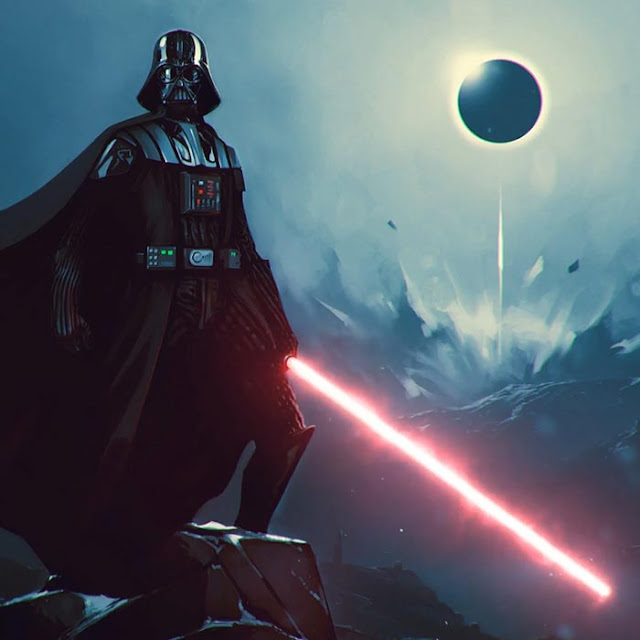 Darth Vader Standing Wallpaper Engine