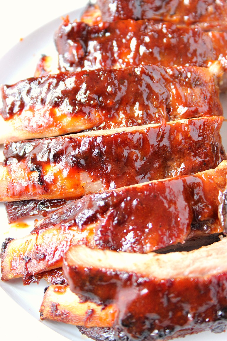 The BEST Slow Cooker R...Y Style Barbecued Ribs Recipe In Crock Pot