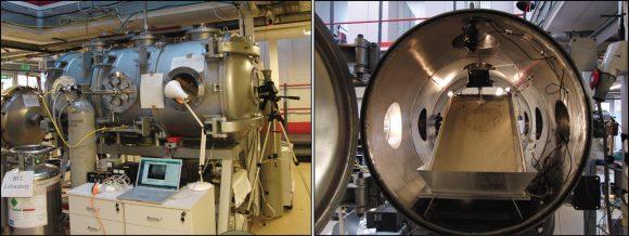 Camara de Marte para simular atmosfera marciana