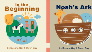 Noah's Ark & In The Beginning (board books)