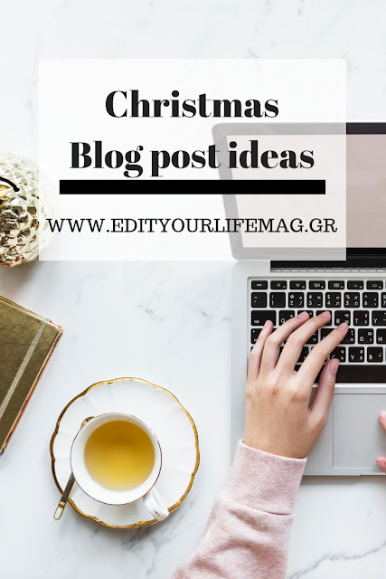 Christmas blogpost ideas