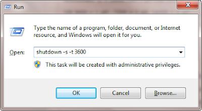 Cách hẹn giờ máy tính tự tắt