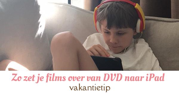 dvd naar tablet