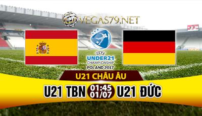 Nhận định bóng đá U21 Tây Ban Nha vs U21 Đức